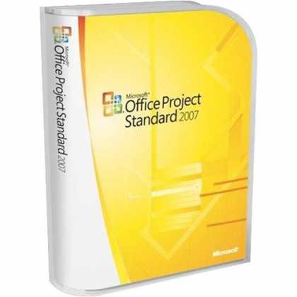 Bestselling Software (2008) - Microsoft Project Standard 2007