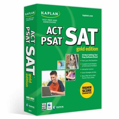 Bestselling Software (2008) - Kaplan SAT/ACT/PSAT Gold Edition