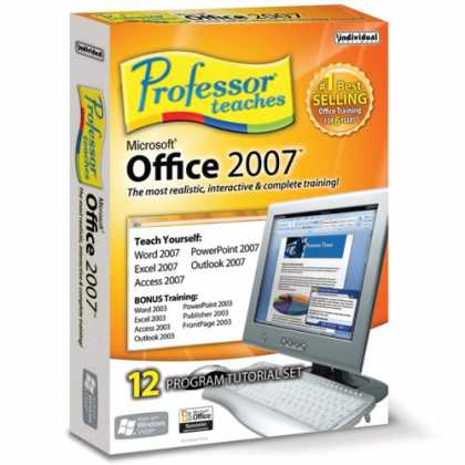 Bestselling Software (2008) - Professor Teaches Office 2007