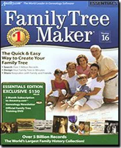 Bestselling Software (2008) - Family Tree Maker Version 16 Essentials [OLD VERSION]