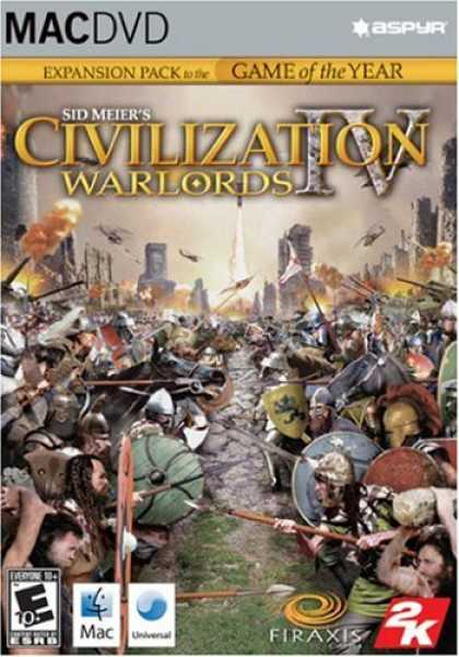 Bestselling Software (2008) - Civilization IV: Warlords Expansion Pack