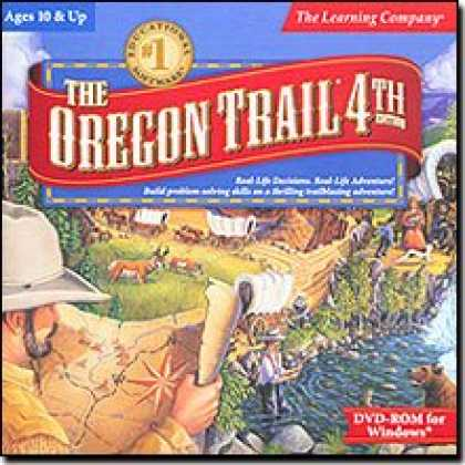 Bestselling Software (2008) - Oregon Trail 4th Edition