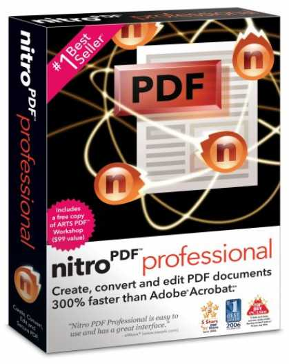 Bestselling Software (2008) - Nitro PDF Professional