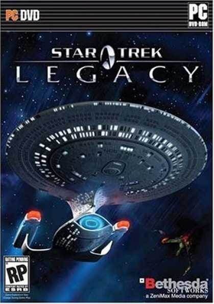 Bestselling Software (2008) - Star Trek - Legacy