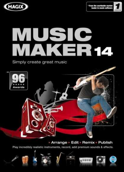Bestselling Software (2008) - Music Maker 14