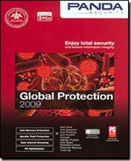 Bestselling Software (2008) - Panda Global Protection 2009 - 3 User