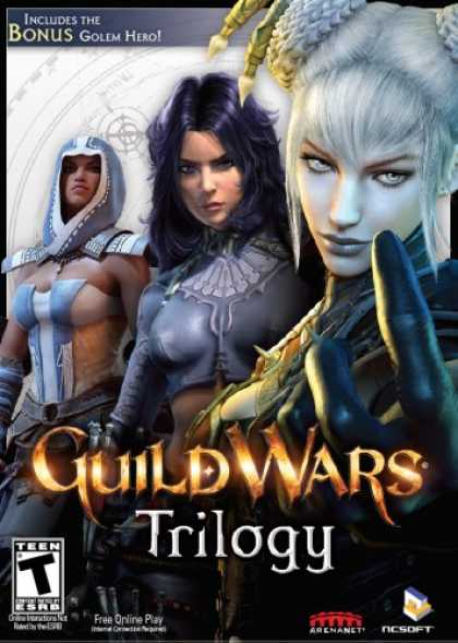 Bestselling Software (2008) - Guild Wars Trilogy and Eye of the North Jora Limited Edition Print Bundle