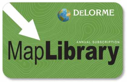 Bestselling Software (2008) - Map Library Subscription Card for use with Topo USA 7.0 and Earthmate PN Series