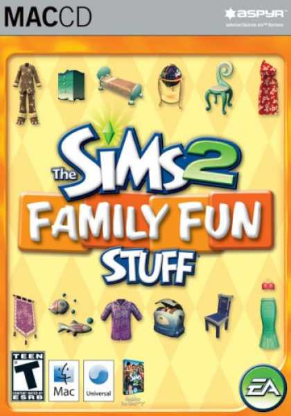 Bestselling Software (2008) - The Sims 2 Family Fun Stuff Pack