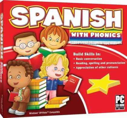 Bestselling Software (2008) - Spanish With Phonics