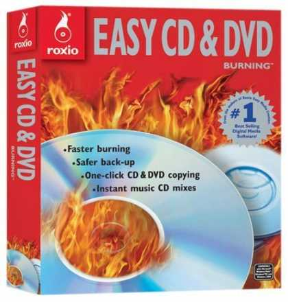 Bestselling Software (2008) - Roxio Easy CD & DVD Burning