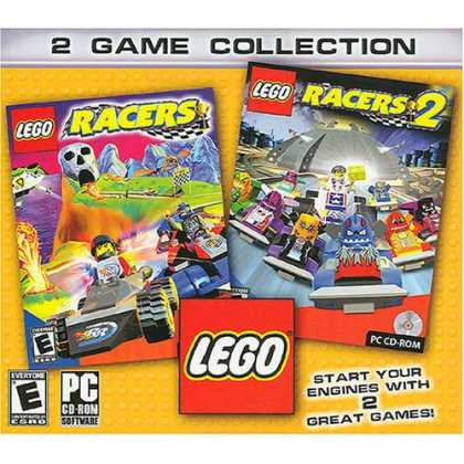 Bestselling Software (2008) - Lego Racer 1 & 2 - jc