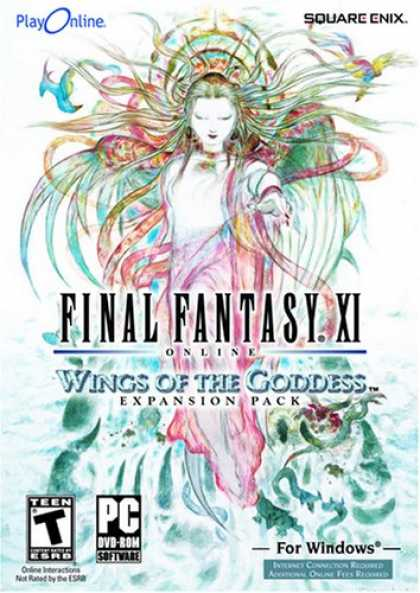 Bestselling Software (2008) - Final Fantasy XI Online: Wings of the Goddess Expansion Pack