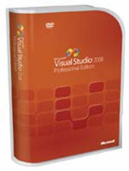 Bestselling Software (2008) - Microsoft Visual Studio 2008 Professional