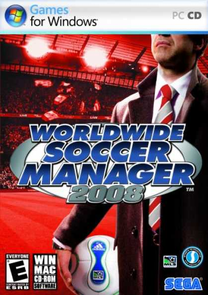 Bestselling Software (2008) - Worldwide Soccer Manager 2008