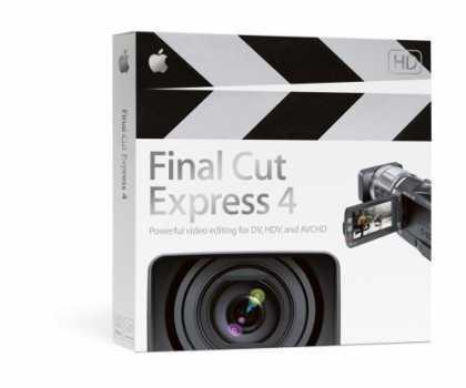 Buy OEM Apple Final Cut Express 4