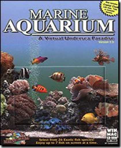 Bestselling Software (2008) - Marine Aquarium 2.5 Virtual Undersea Paradise Win/Mac