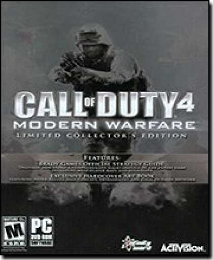 Bestselling Software (2008) - Call of Duty 4: Modern Warfare Collector's Edition