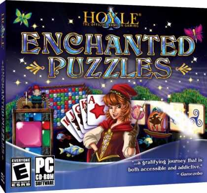 Bestselling Software (2008) - Hoyle Enchanted Puzzles JC