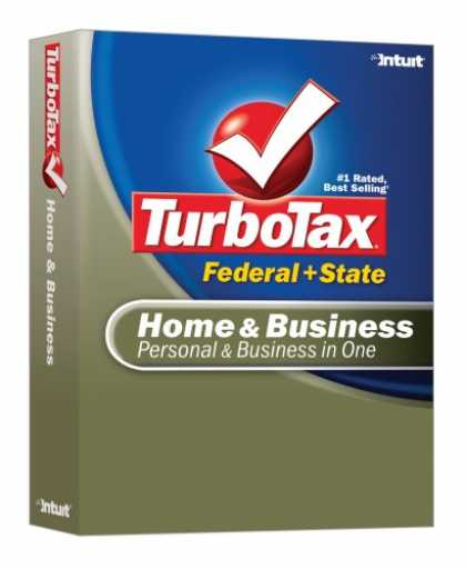 Bestselling Software (2008) - TurboTax Home & Business Federal + State 2007 [OLD VERSION]