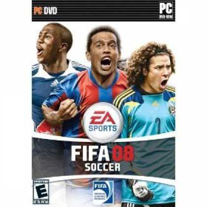 Bestselling Software (2008) - FIFA 08 Soccer