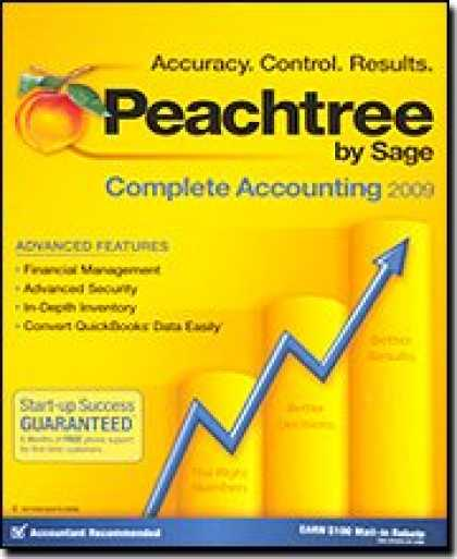 Bestselling Software (2008) - Peachtree By Sage Complete Accounting 2009