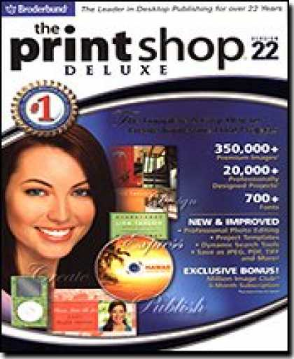Bestselling Software (2008) - The Print Shop 22 Deluxe [OLD VERSION]