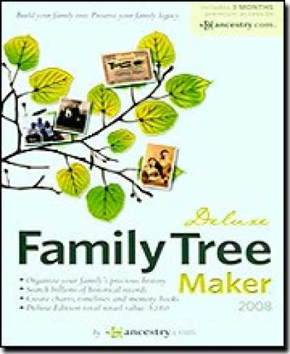 Bestselling Software (2008) - Family Tree Maker 2008 Deluxe [OLD VERSION]