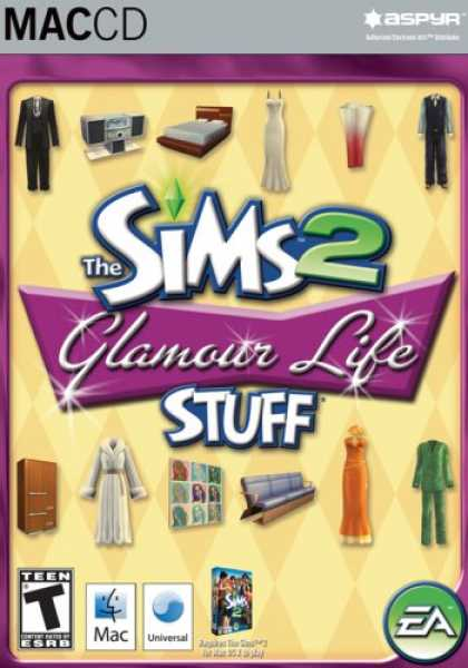 Bestselling Software (2008) - The Sims 2 Glamour Life Stuff Pack