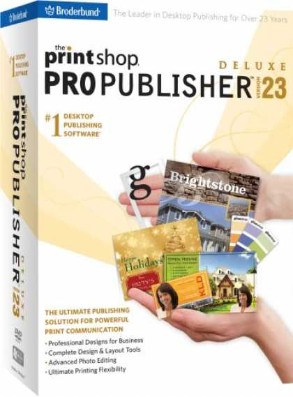 Bestselling Software (2008) - The Print Shop 23 Pro Publisher Deluxe
