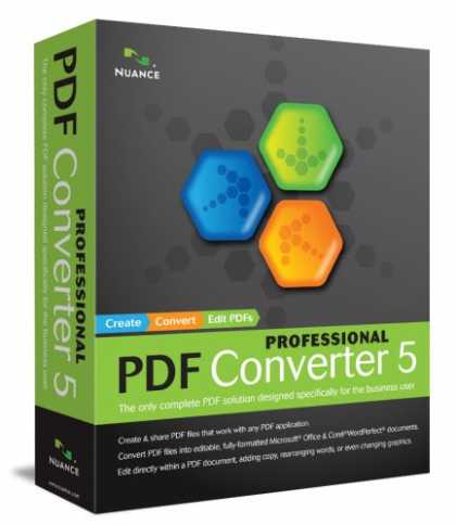 Bestselling Software (2008) - PDF Converter Professional 5.0
