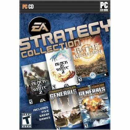 Bestselling Software (2008) - EA Strategy Collection (Black & White 2, Black & White 2 Battle of Gods, Command