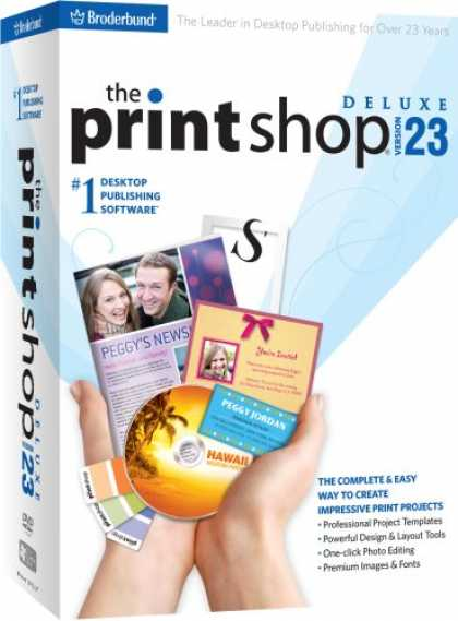 Bestselling Software (2008) - The Print Shop 23 Deluxe