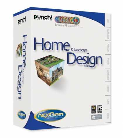 Punch home landscape design suite with nexgen for Punch home design