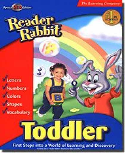 Bestselling Software (2008) - Reader Rabbit Toddler With Free Reader Rabbit