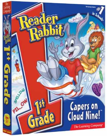 Bestselling Software (2008) - Reader Rabbit 1st Grade Capers On Cloud Nine