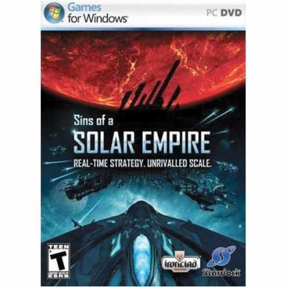 Bestselling Software (2008) - Sins of a Solar Empire Collectors Edition