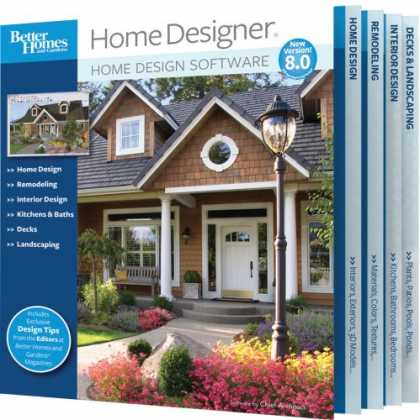 Bestselling Software (2008) - Better Homes and Gardens Home Designer 8.0