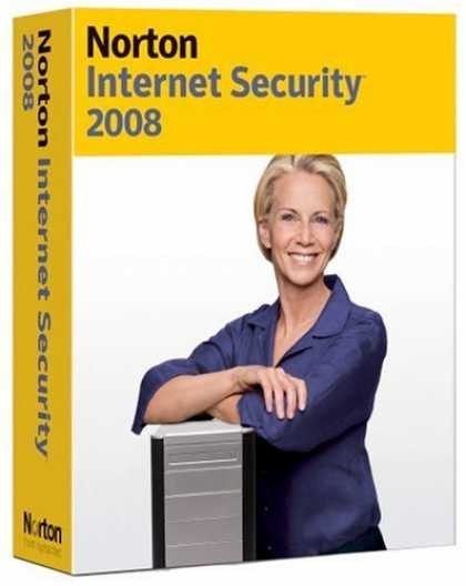 Bestselling Software (2008) - Norton Internet Security 2008 up to 3 Users [OLD VERSION]