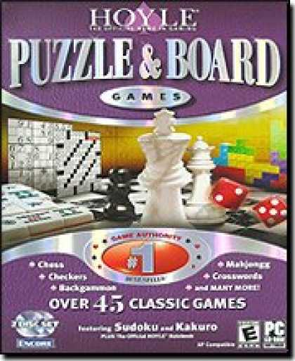 Bestselling Software (2008) - Hoyle Puzzle & Board Games 2007