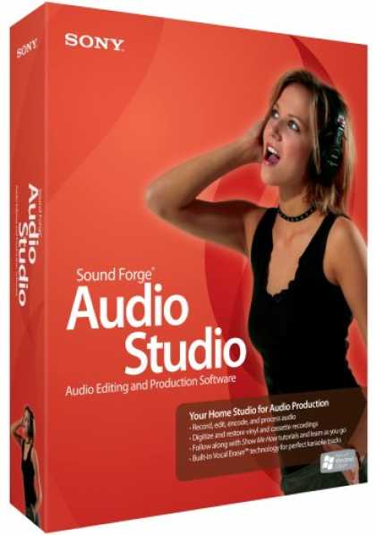 Bestselling Software (2008) - Sound Forge Audio Studio 9