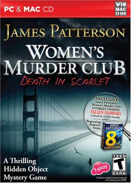 Bestselling Software (2008) - Women's Murder Club - Death in Scarlet