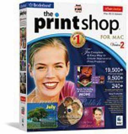 Bestselling Software (2008) - Print Shop Mac 2.0