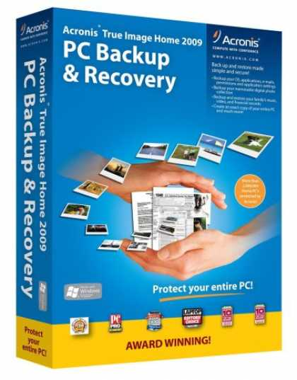 Acronis True Image Home 2009 Full XP Vista ENG-Recommend.