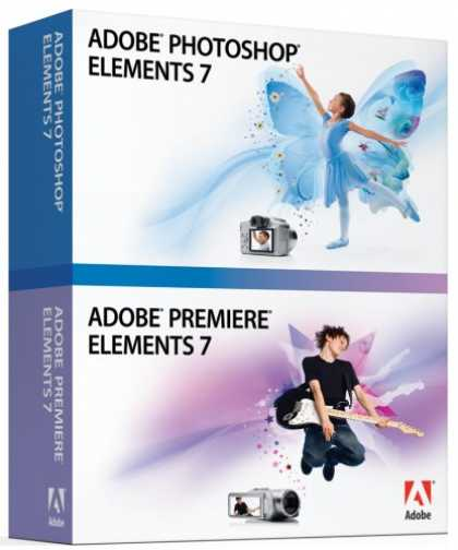 Bestselling Software (2008) - Adobe Photoshop Elements & Premiere Elements 7