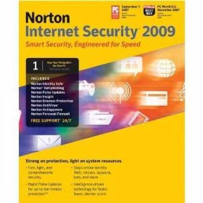 Bestselling Software (2008) - Norton Internet Security 2009