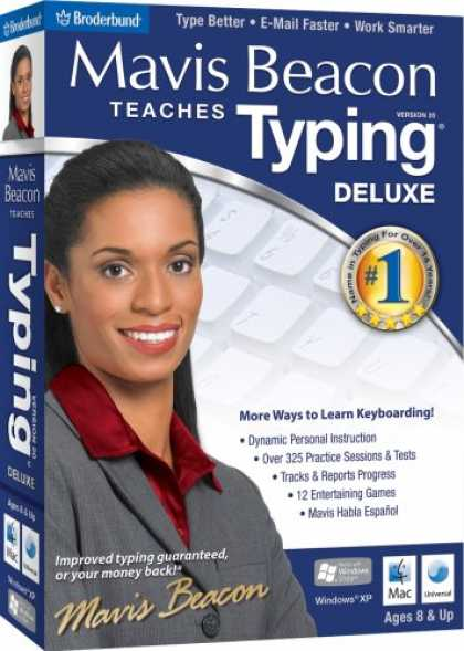 Bestselling Software (2008) - Mavis Beacon Teaches Typing Deluxe 20