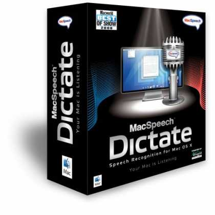 Bestselling Software (2008) - MacSpeech Dictate