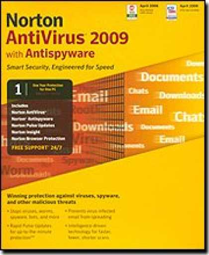Bestselling Software (2008) - Norton Antivirus 2009