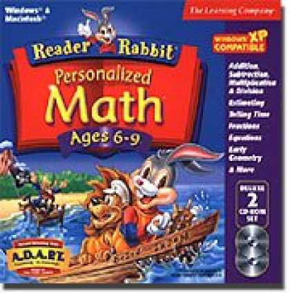 Bestselling Software (2008) - Reader Rabbit Math Adventure Ages 6-9 (Jewel Case)